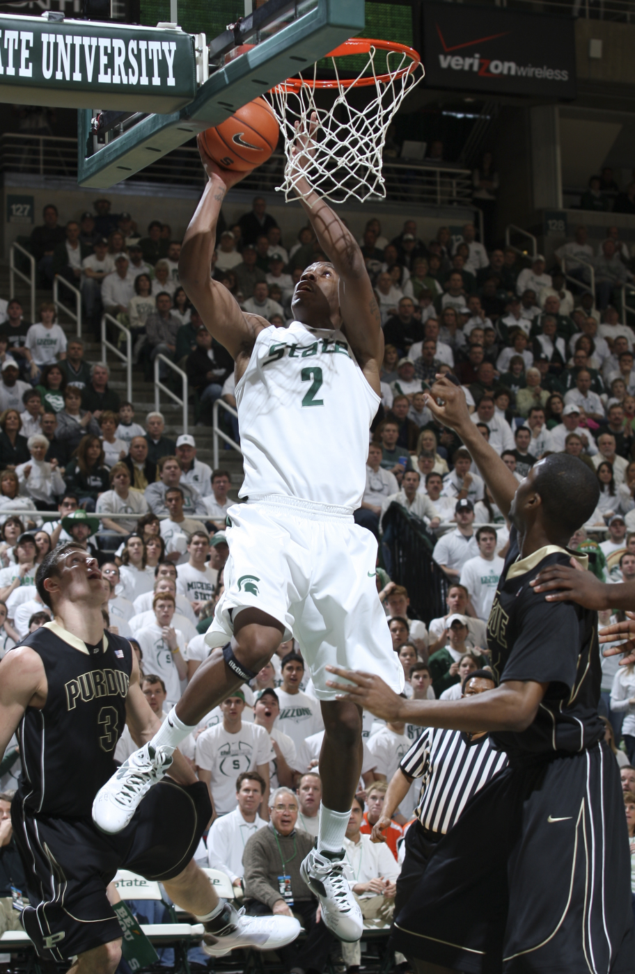Raymar Morgan And The Spartans Open Big Ten Tournament On Friday
