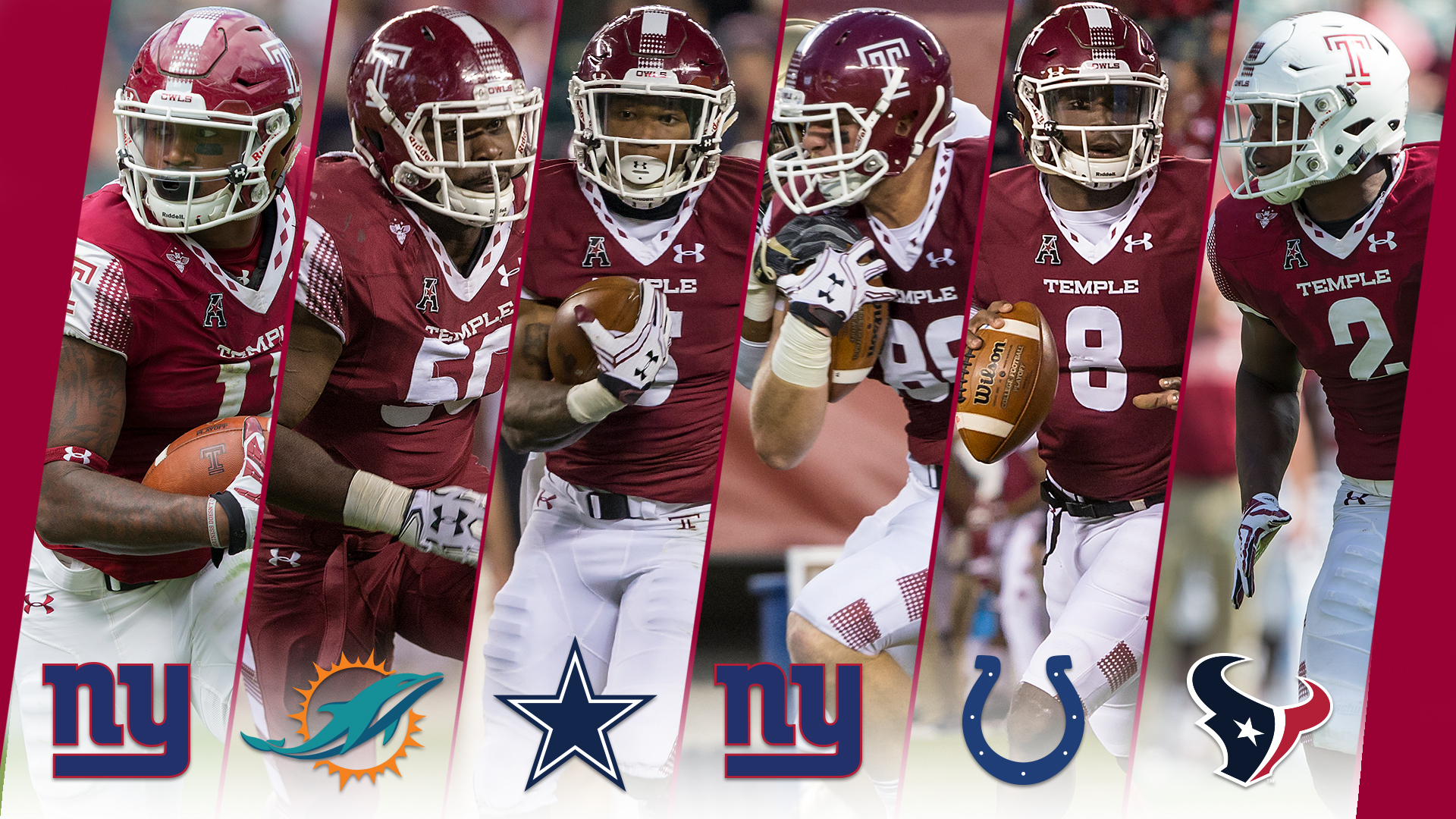 More Temple Players Join Ranks Of NFL