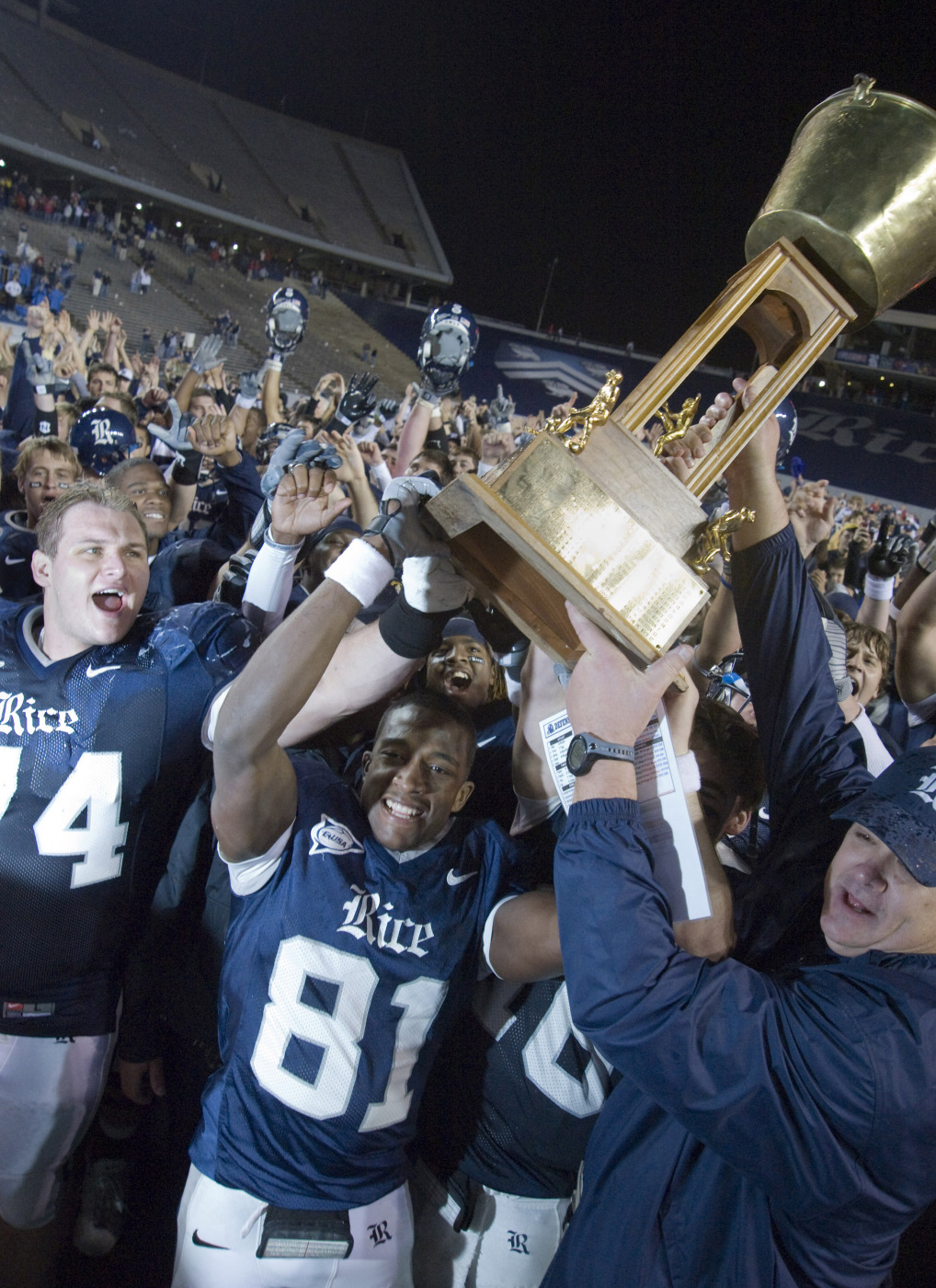 The Bayou Bucket will be decided at Rice Stadium on October 16.