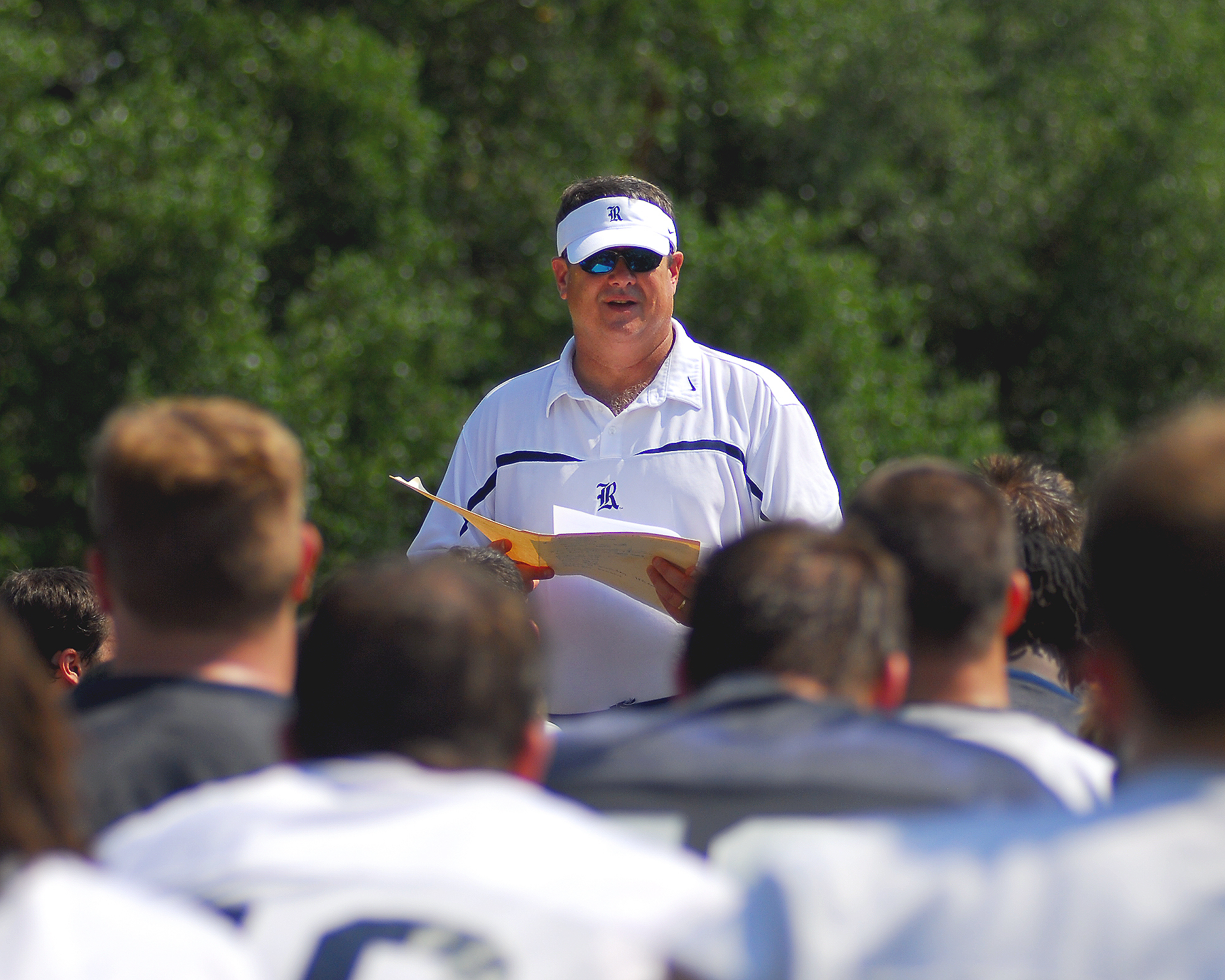 The Blue-Gray Spring Football Game will be played Saturday at Rice Stadium.