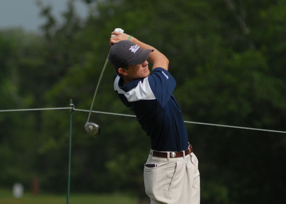 Michael Whitehead (pictured) along with Jeff Wibawa were the Owls' top finishers at the Sam H. Hall Intercollegiate.