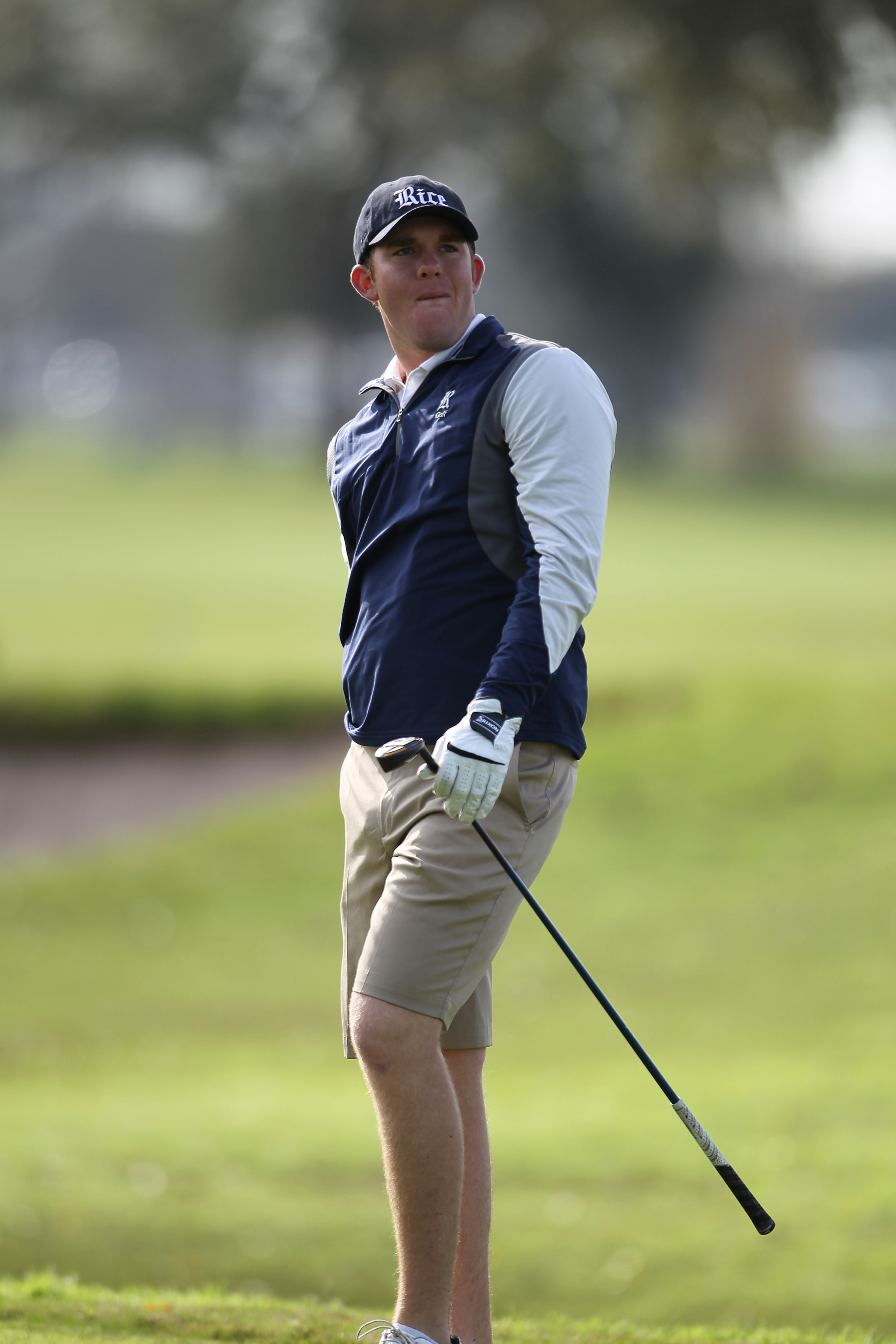 Brock Wilson shot a 74 on Sunday at the Jim West Intercollegiate and the Owls are currently in eighth at the tournament.