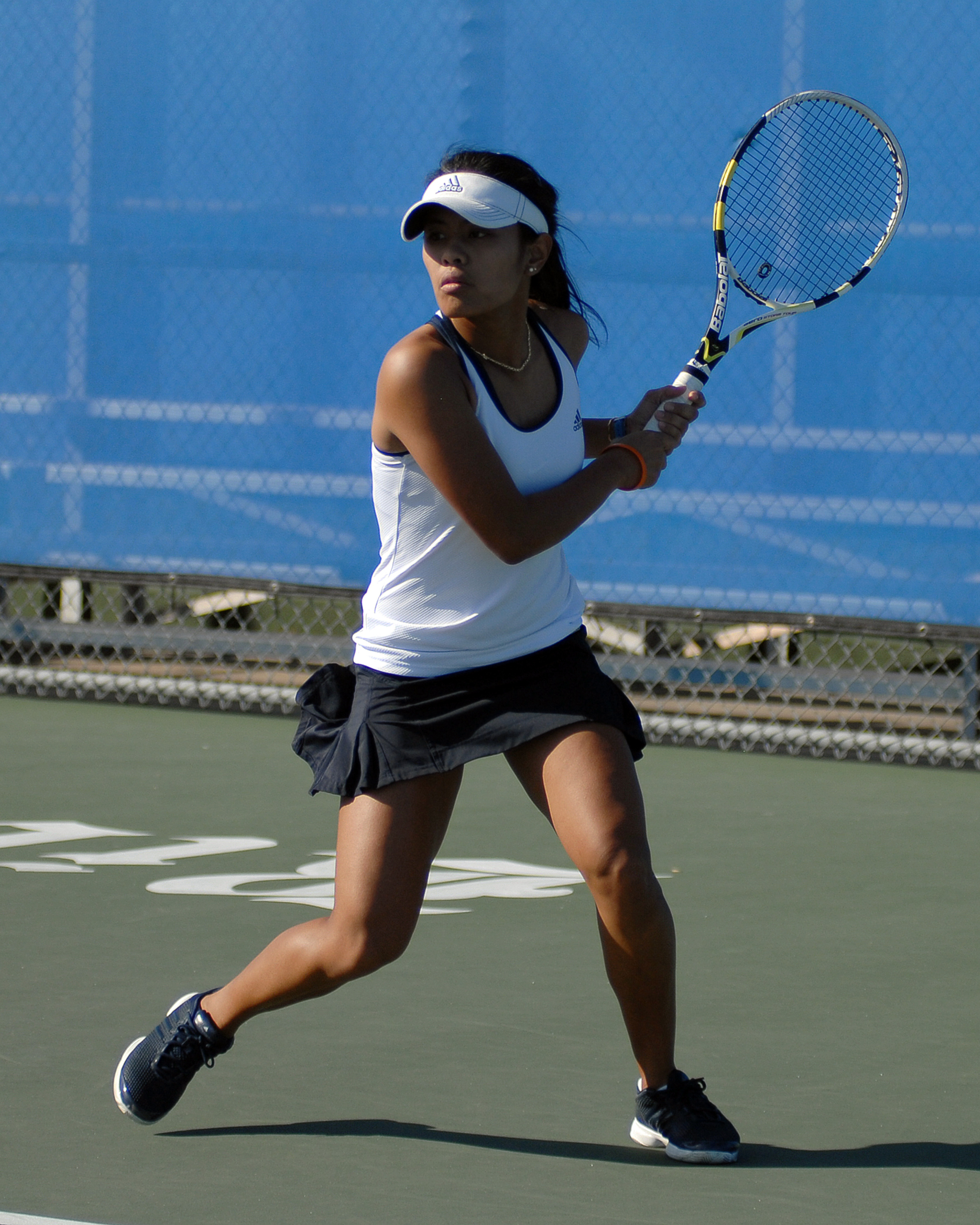 Kim Anicete won her 93rd career match on Friday
