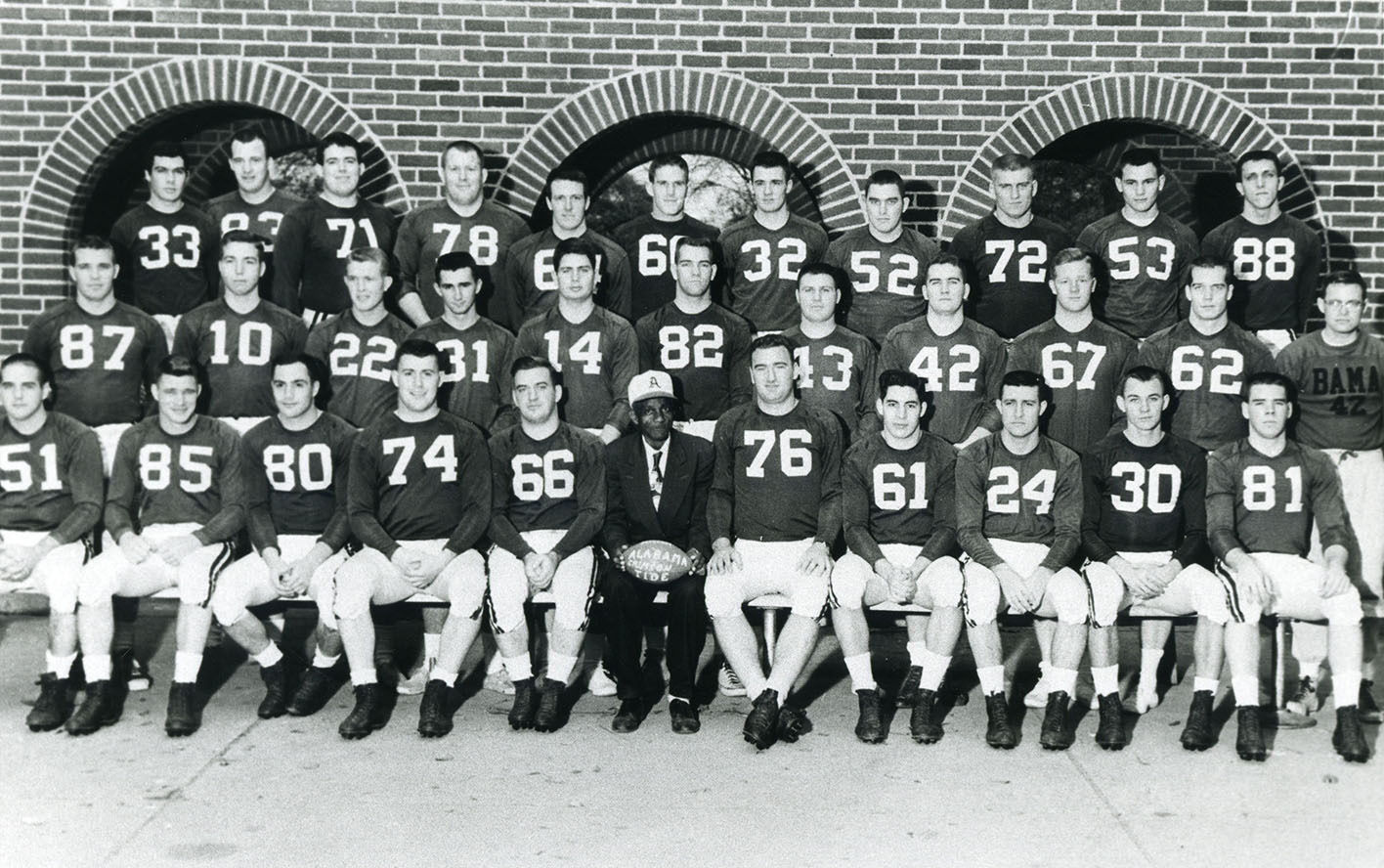 1954 Football Archives