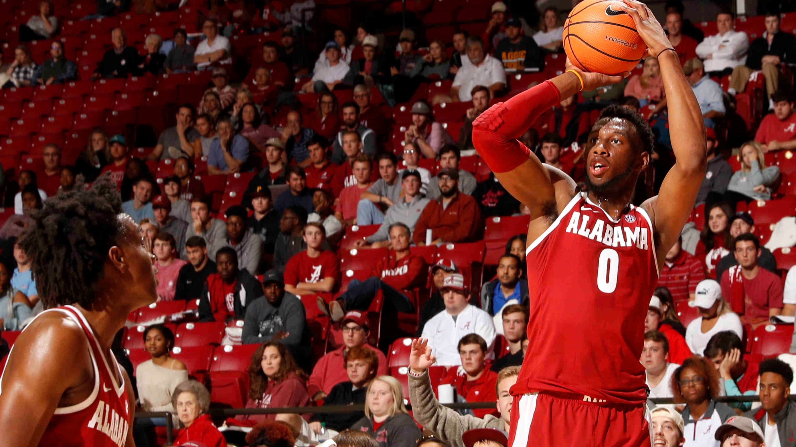 College Football Tv Schedule 2017 >> Alabama Men's Basketball Hosts UAH in Exhibition Contest Monday Night - Alabama Athletics