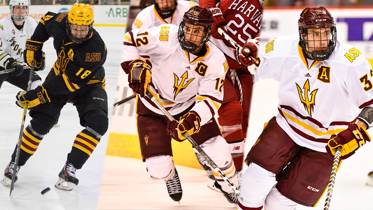 hockey names captains for the 2017-18 season - arizona state