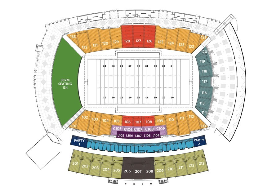 Alabama state athletics tickets page