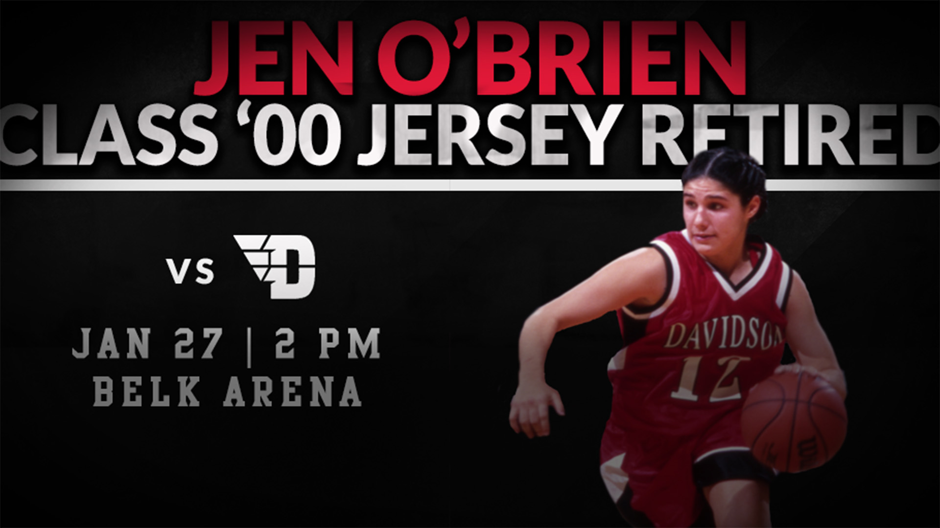 Jennifer O Brien S Basketball Jersey To Be Retired Saturday