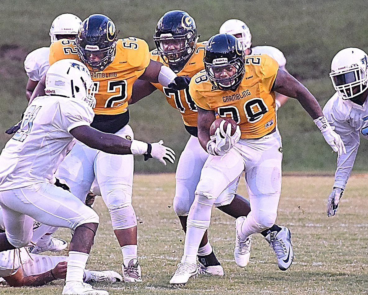 Tigers Edge Out Jackson State 35 14 Grambling State University