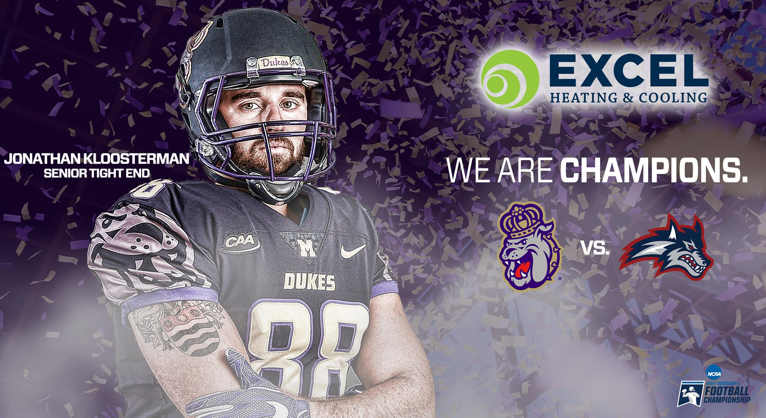 1 Dukes Match Up With 10 Stony Brook In Fcs Second Round