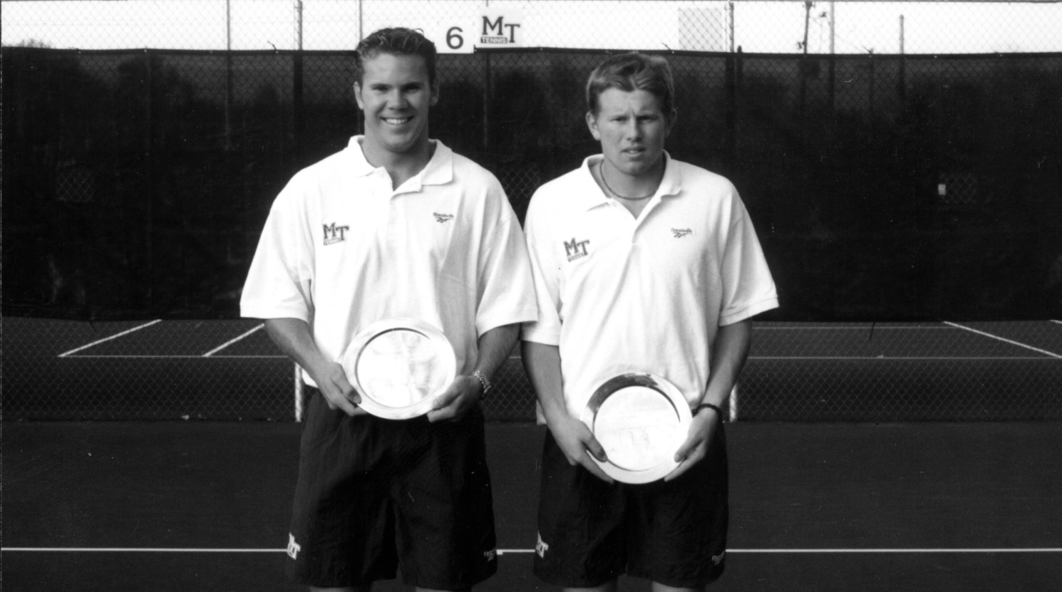 Hall of Fame: Dynamic doubles duo made MT history - Middle ...