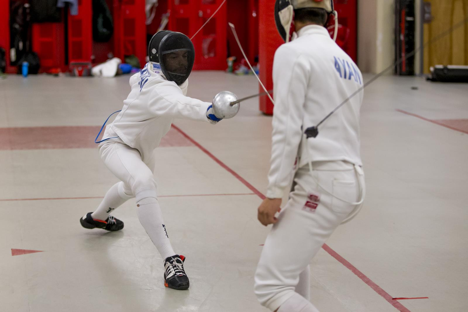 Fencing Competes At Columbia Invitational Julia Garcia Goes
