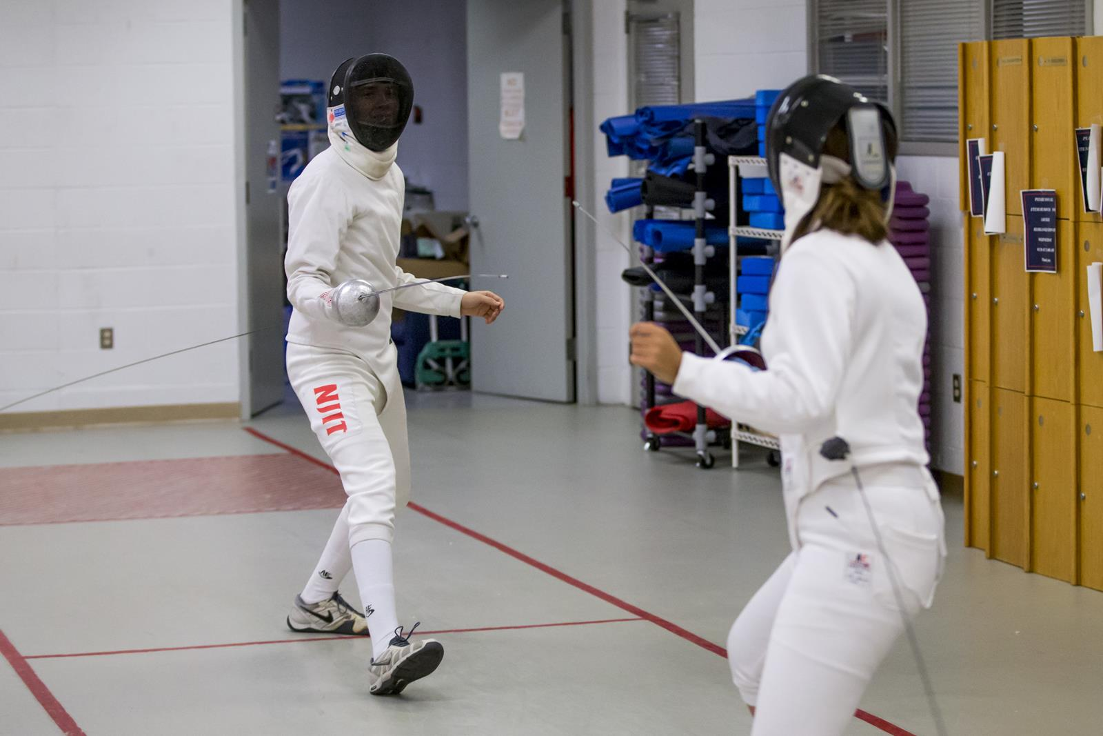 Tristan Decker Men S Fencing New Jersey Institute Of