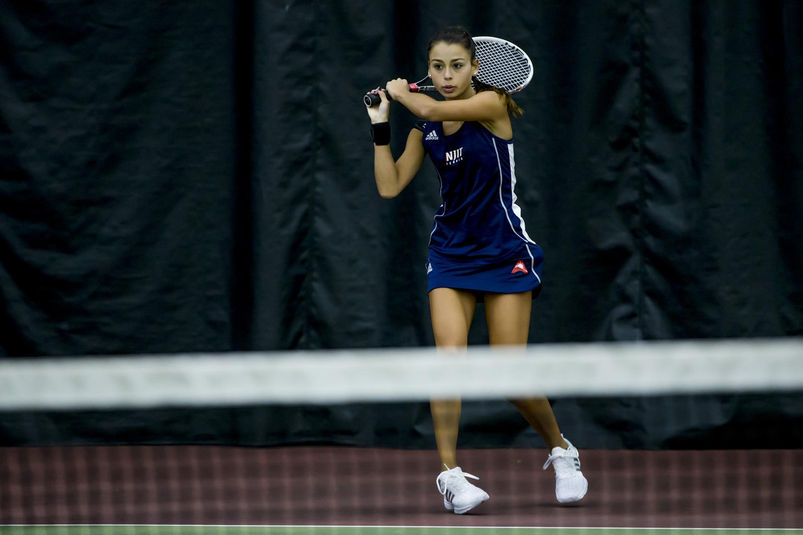 Women S Tennis Notches Eights Wins On Day One Of Njit