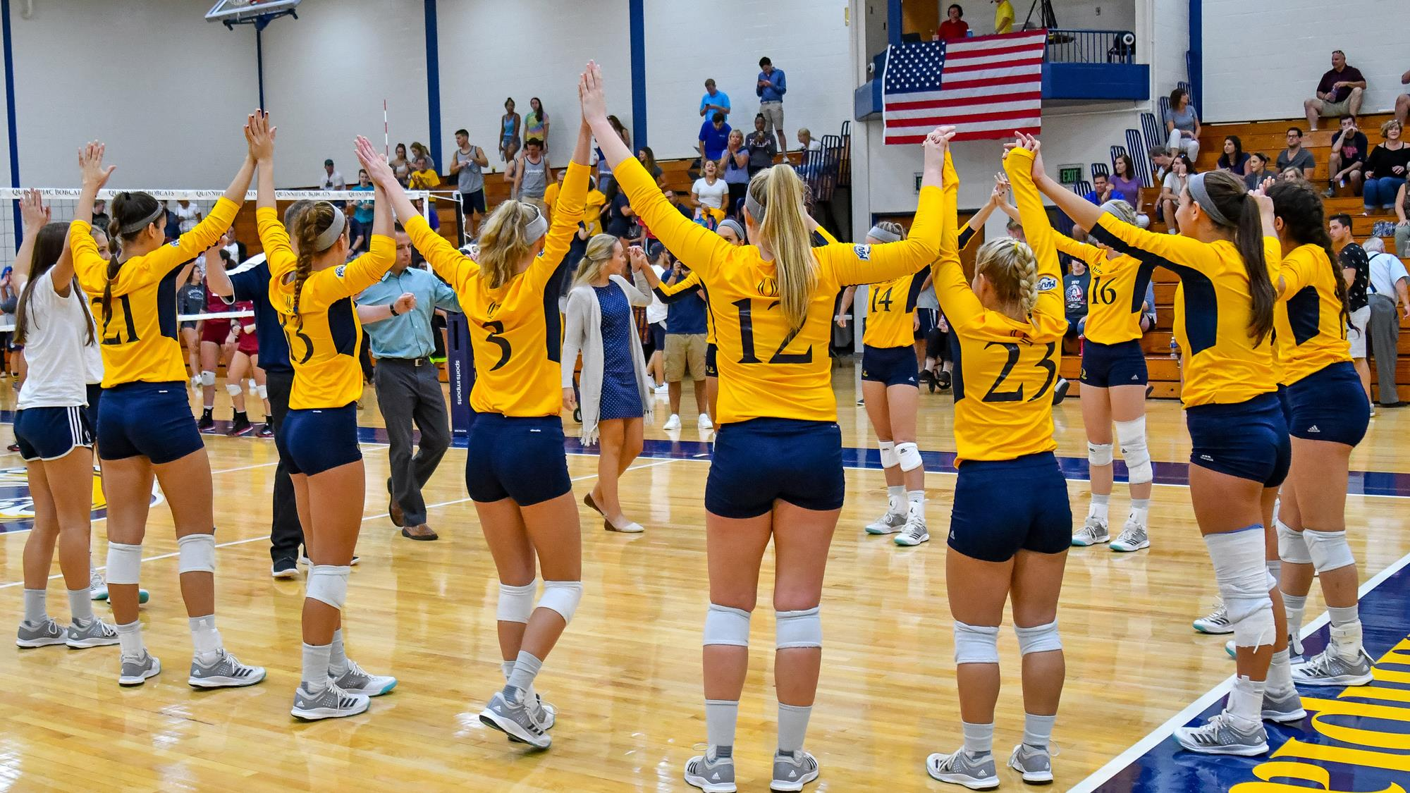 In-State Rivalry Matches Highlight QU Volleyball 2018 ...