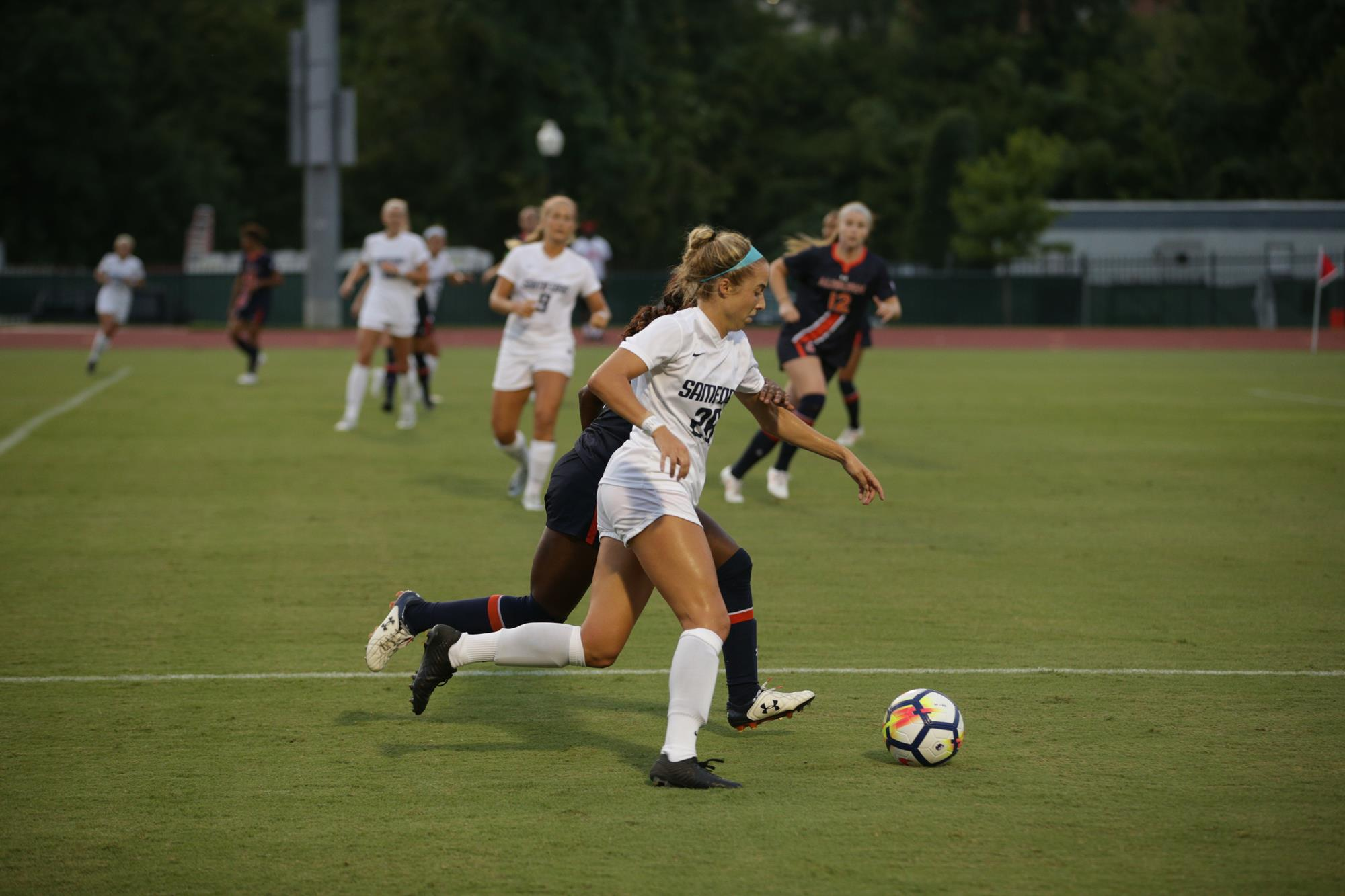 soccer drops match at 15 baylor sunday samford university athletics