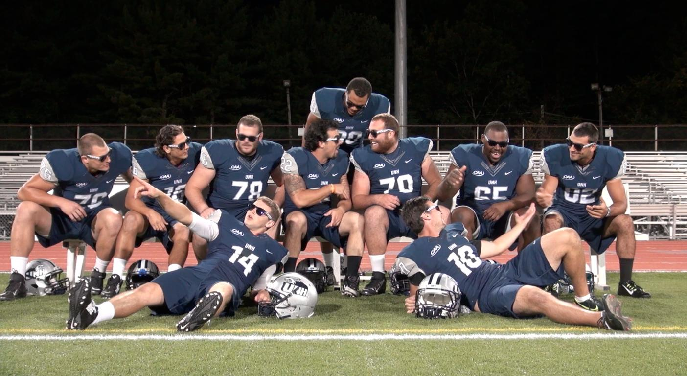Unh Wildcats No 1 Football S Goal One More Dungeon Win