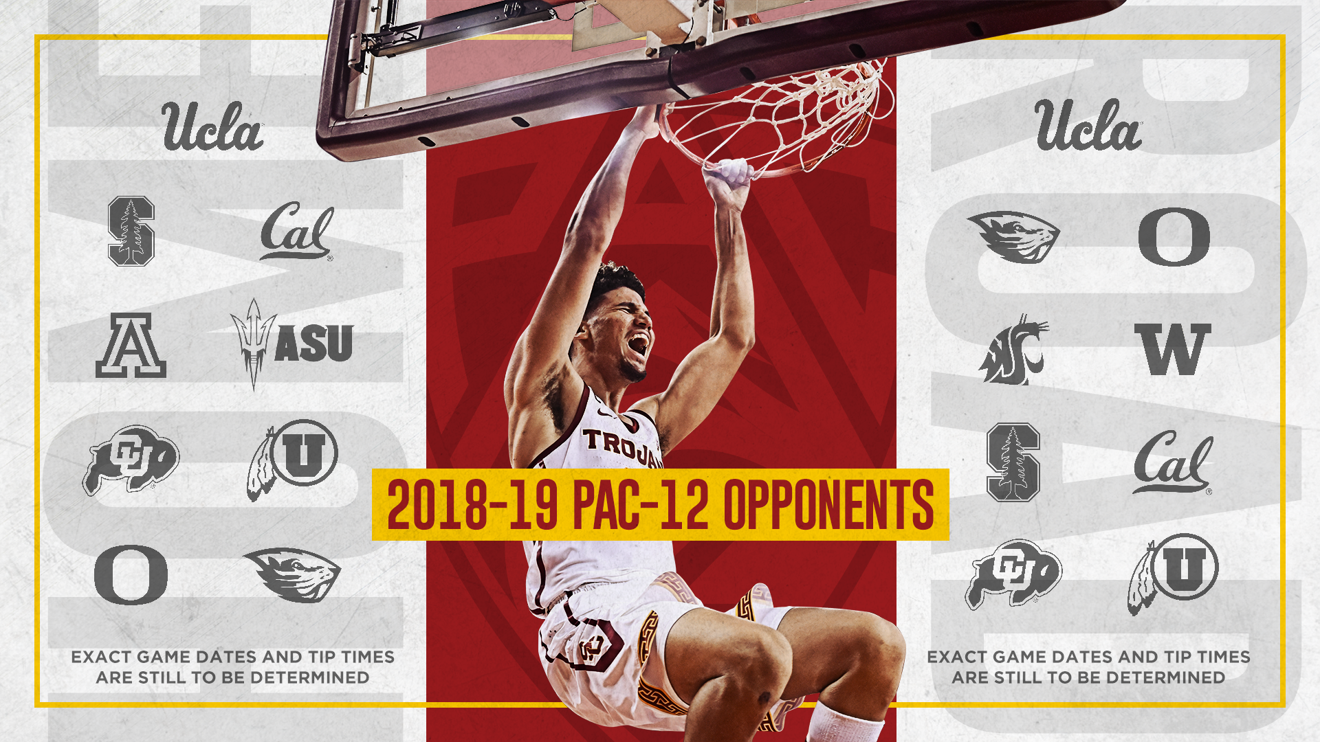 usc announces 2018-19 men's basketball schedule - usc athletics