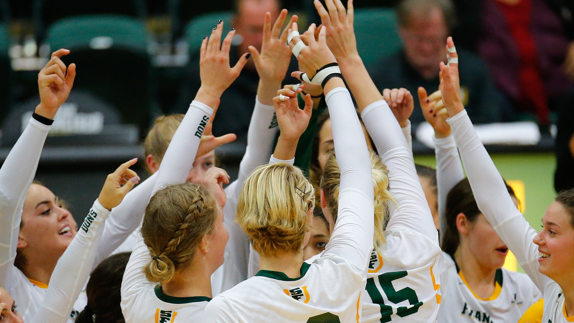 Usf Admissions Office >> WVB | Dons secure win over Army, 3-2 - University of San ...
