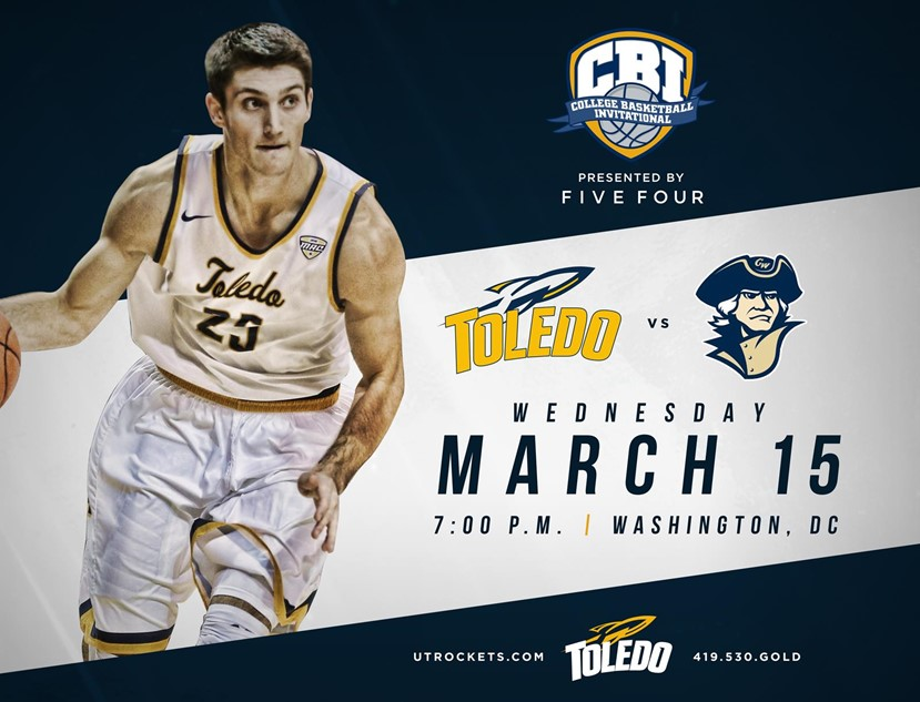 Toledo To Open 2017 College Basketball Invitational At George