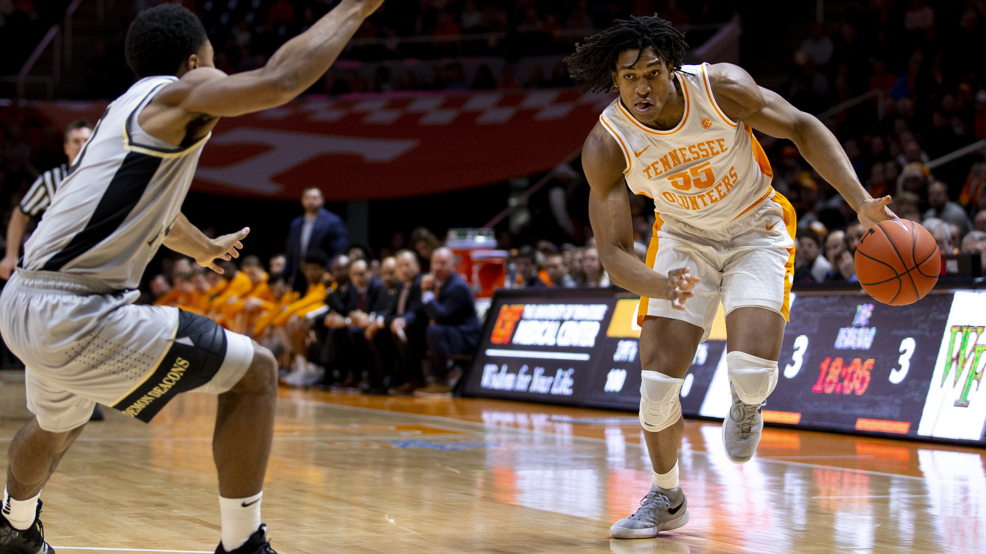 Yves Pons Mens Basketball University Of Tennessee Athletics