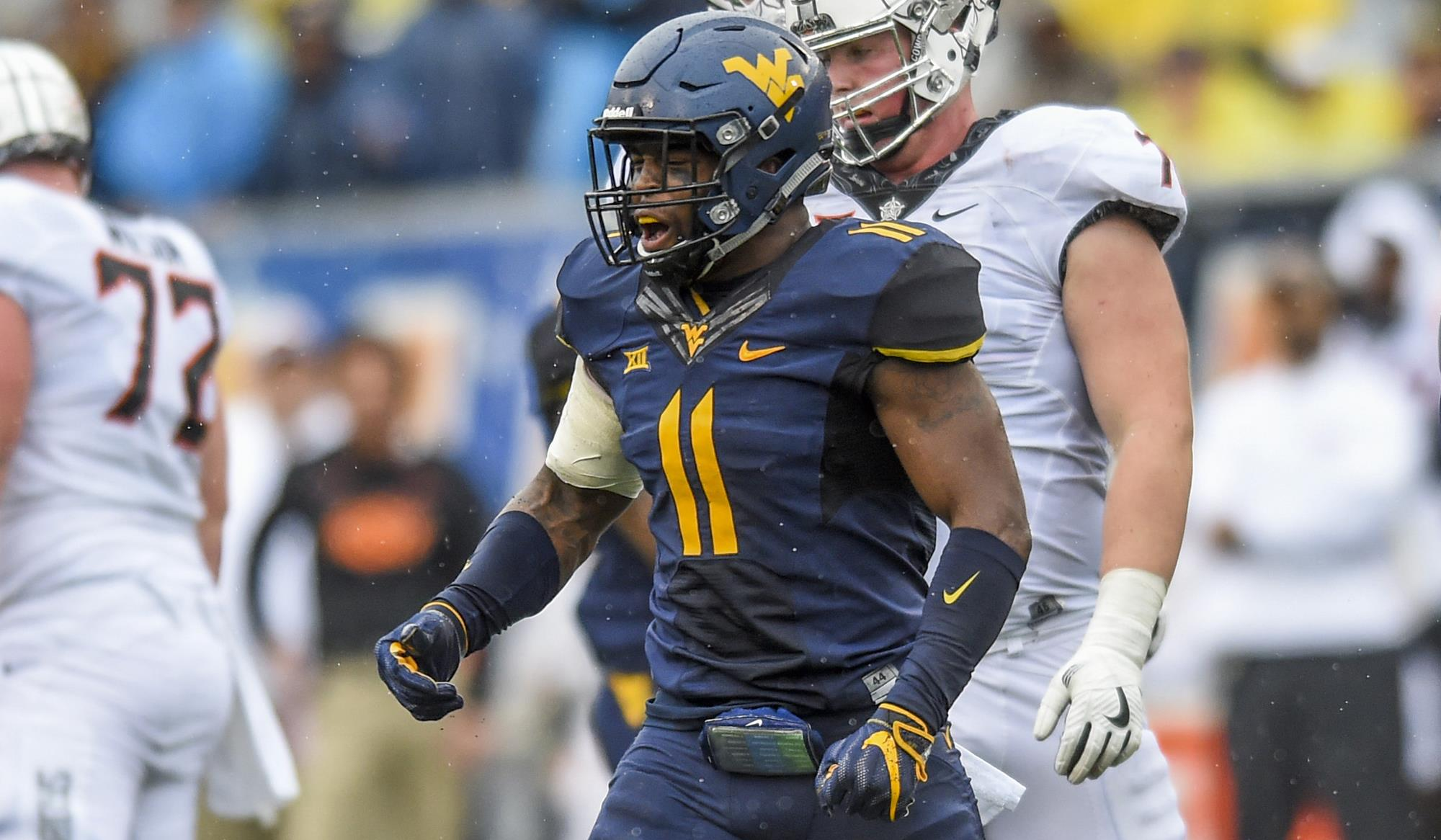 David Long Jr. - Football - West Virginia University Athletics 0aee5d493