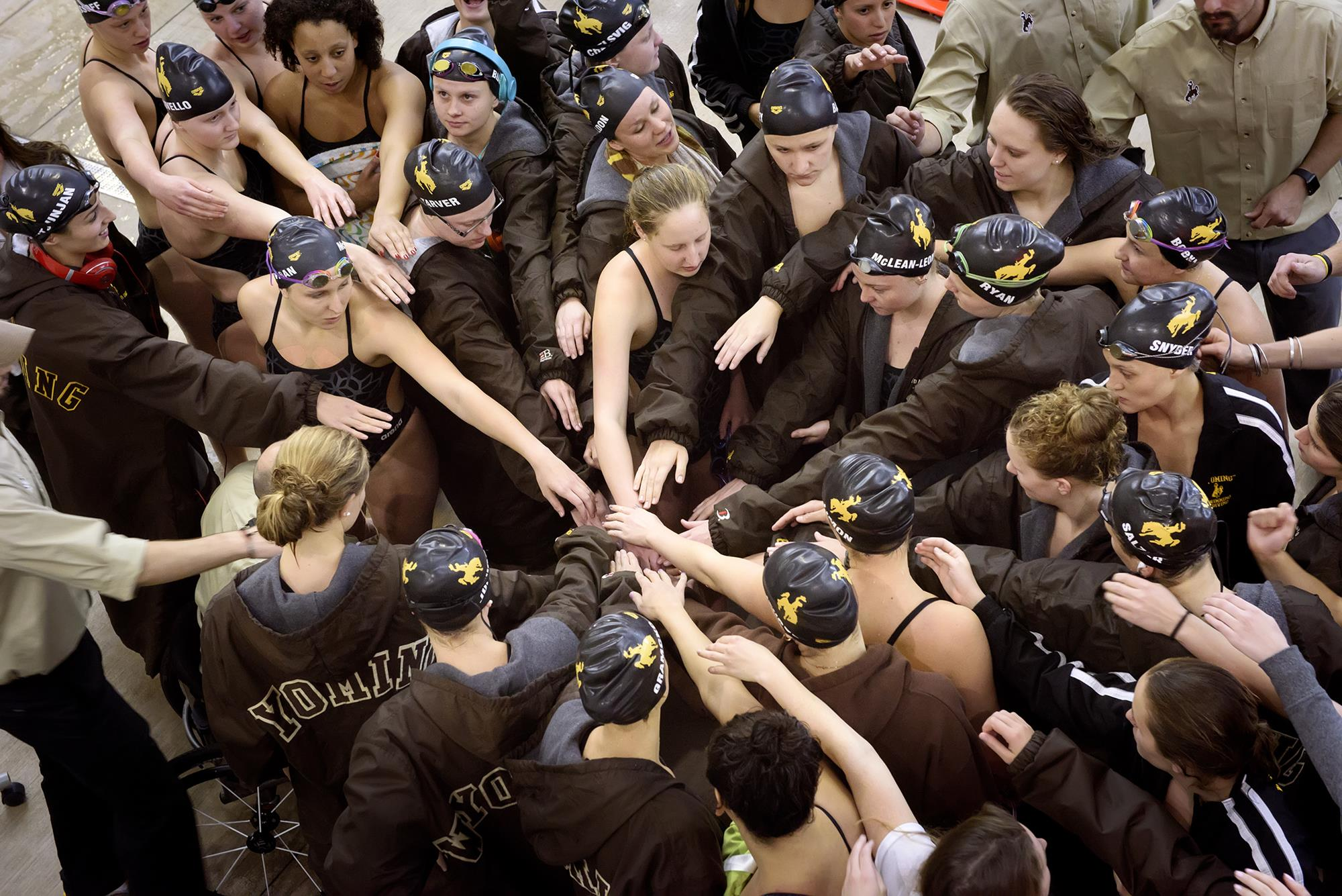 Wyoming Swimmers Prep for Big Weekend