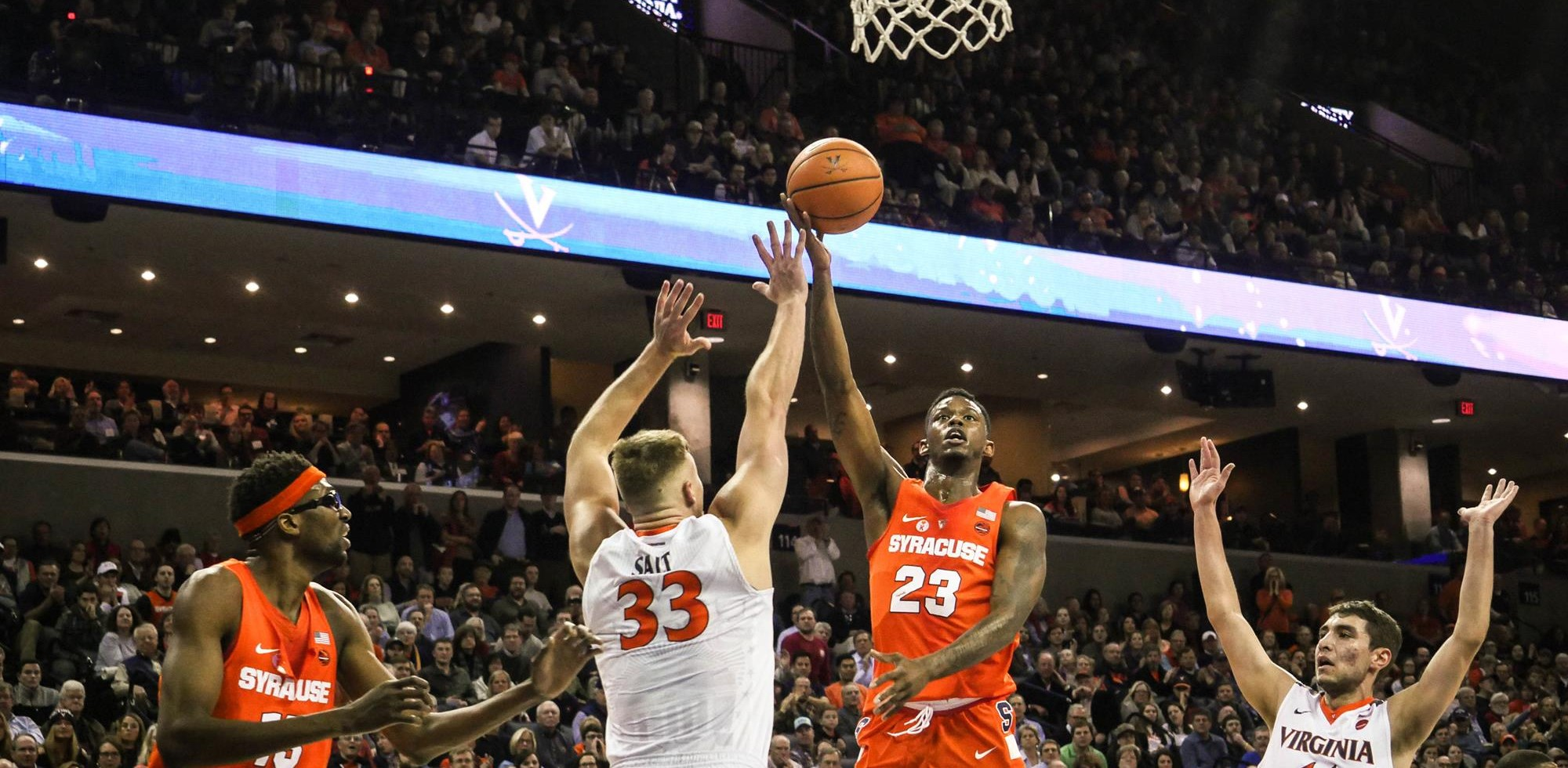 Syracuse Comeback Cut Short At 3 3 Virginia Syracuse University