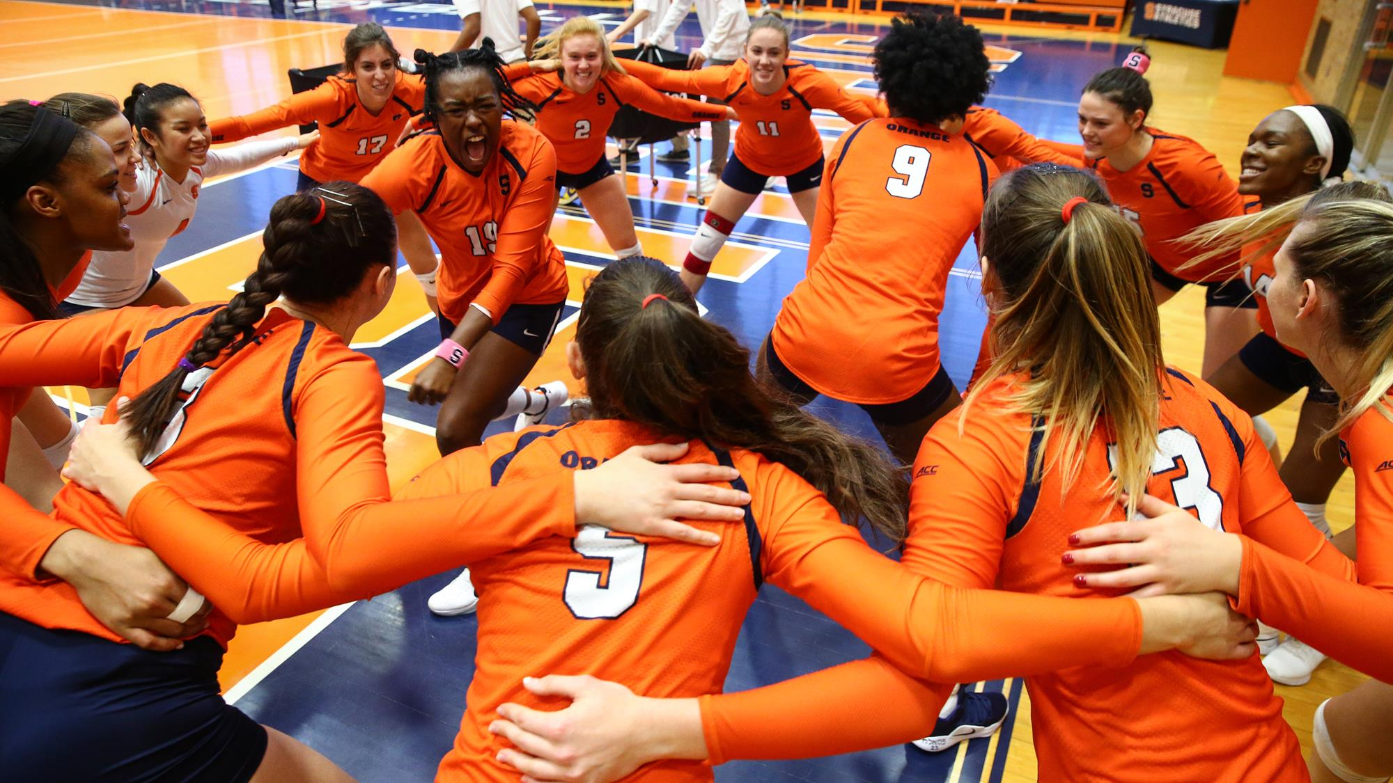 Orange Defeat No 22 Louisville In Five Set Thriller Syracuse