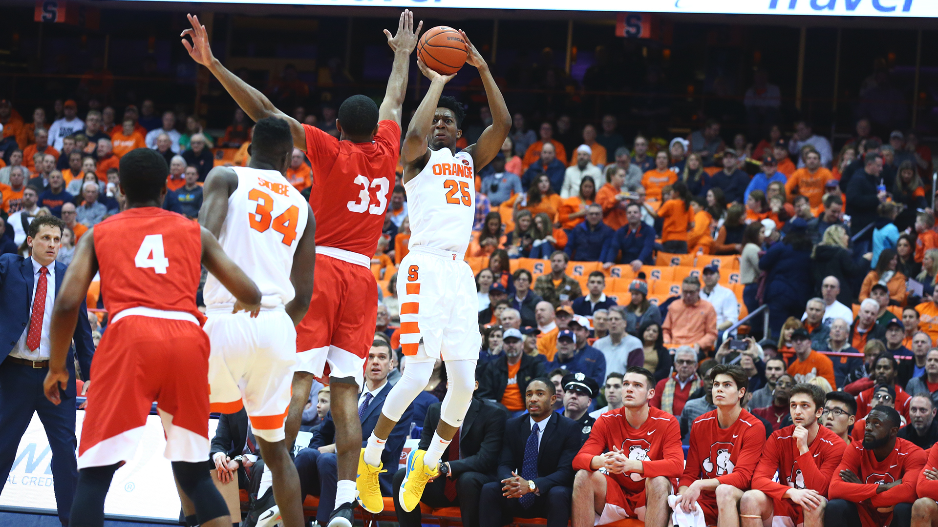 Battle leads Syracuse to 63-55 win over Cornell (full coverage)