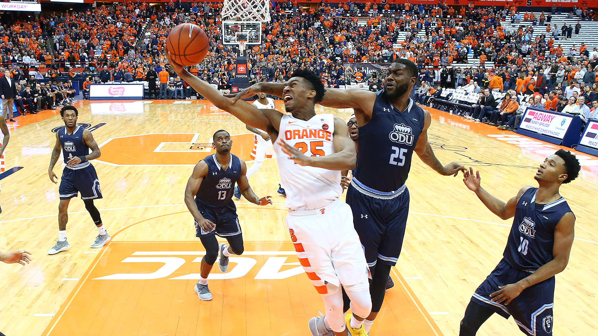 Orange Edged By Old Dominion 68 62 Syracuse University Athletics