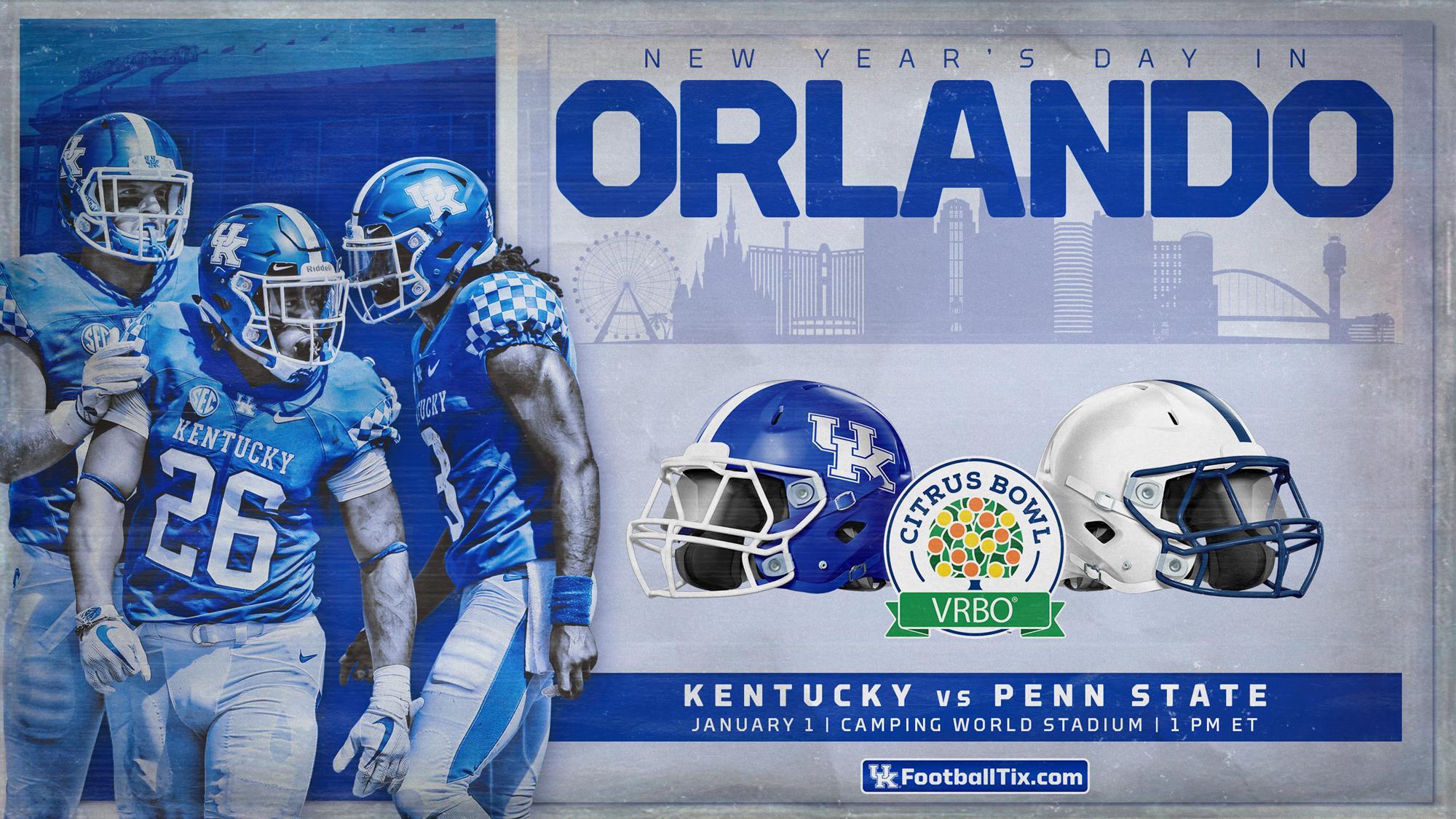 Kentucky Accepts Bid to VRBO Citrus Bowl - University of ...