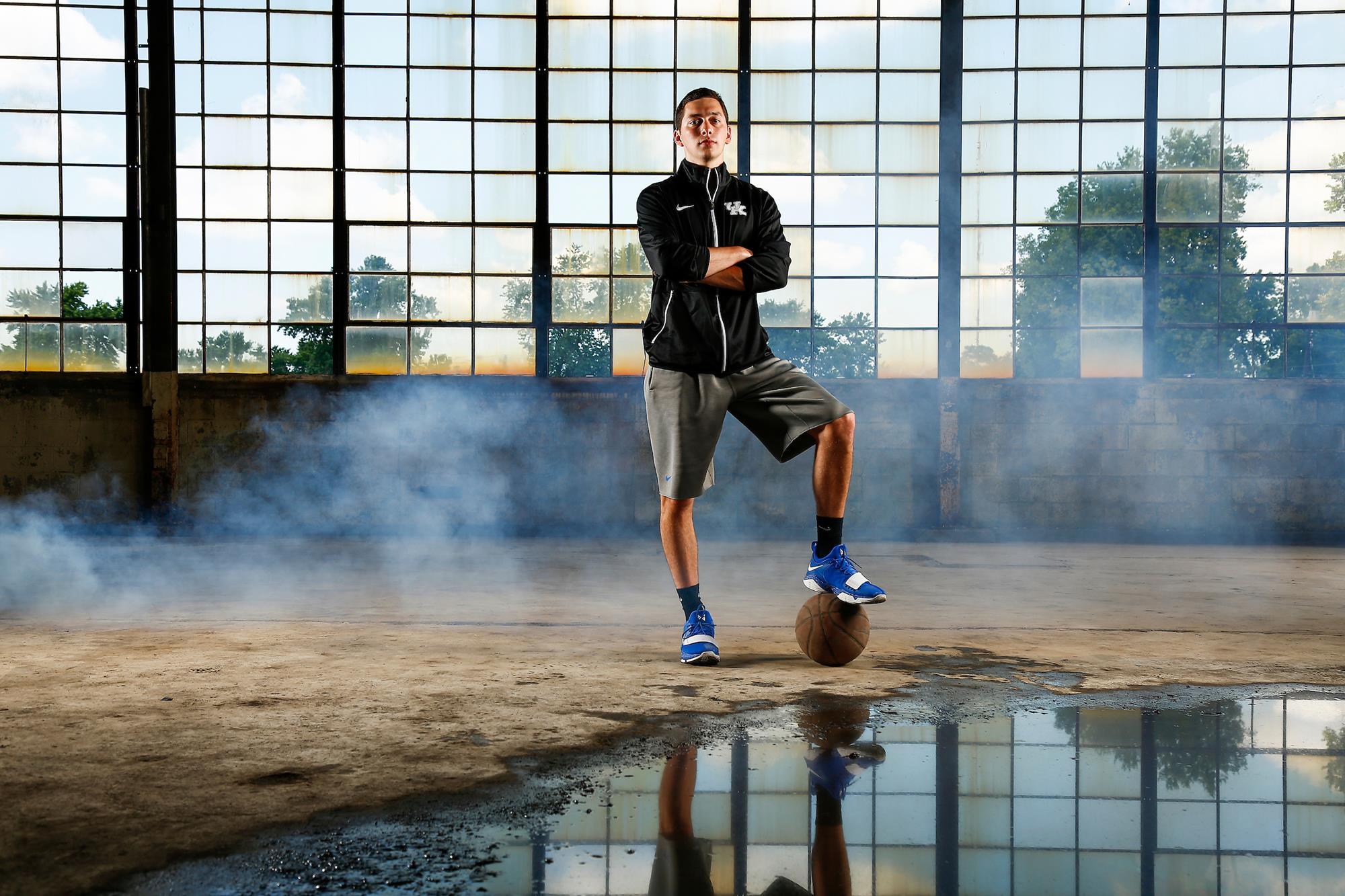 a07b1b62f7007 Jonny David - Men s Basketball - University of Kentucky Athletics