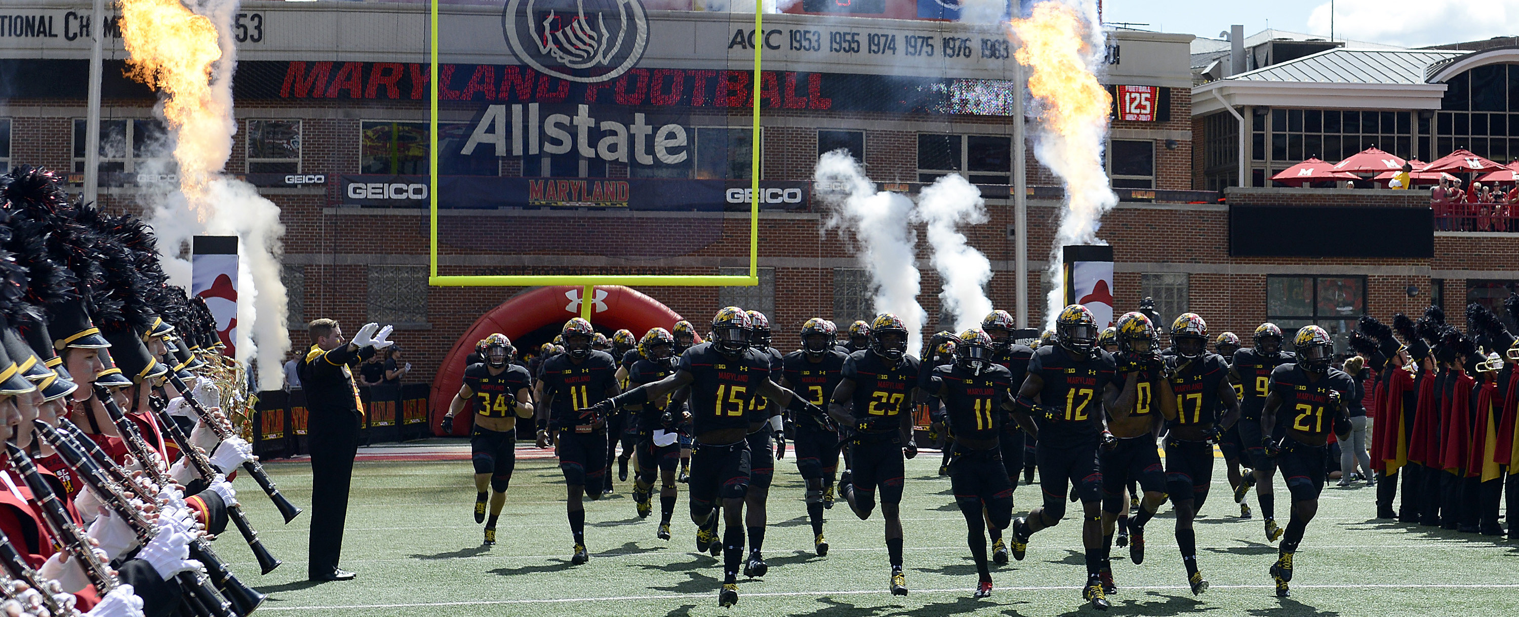 football announces future schedule update - university of maryland
