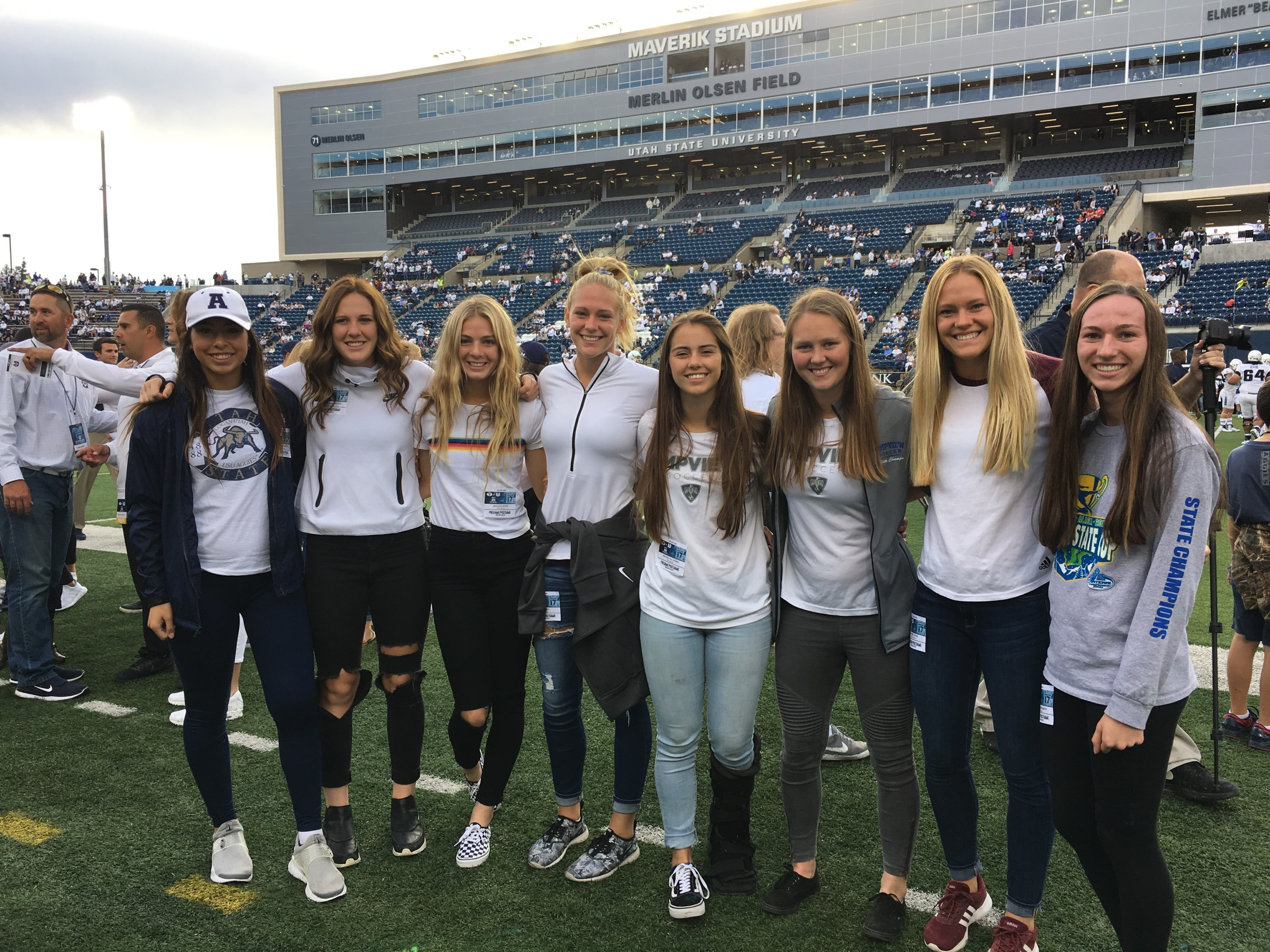 Utah State soccer has signed eight players for the upcoming 2018 season, as announced by head coach Heather Cairns, Thursday.